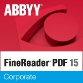 Abbyy FineReader 15 Corporate, Volume Licenses (concurrent), 1 year(s), License quantity 11-25 user(s), Software Maintenance