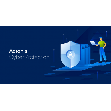 Acronis Cyber Backup Standard Virtual Host Subscription License, 1 year(s), 10-49 user(s)