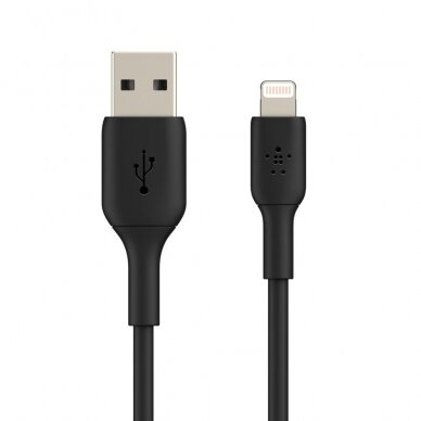 Belkin BOOST CHARGE Lightning to USB-A Cable Black, 0.15 m