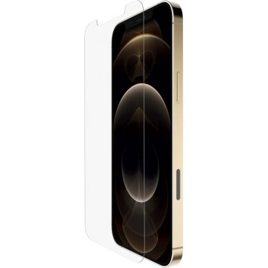Belkin Screen Protector For iPhone 12 Pro Max, Tempered Glass, Transparent