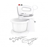 Bosch Mixer CleverMixx MFQ2600G Mixer with bowl, 375 W, Number of speeds 4, Turbo mode, White