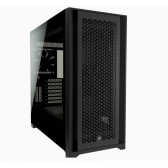 Corsair Computer Case iCUE 5000D Side window, Black, ATX, Power supply included No