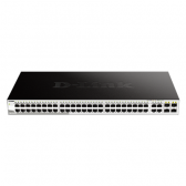 D-Link Switch DGS-1210-52 Web Management, Rack mountable, 1 Gbps (RJ-45) ports quantity 48, Power supply type Single
