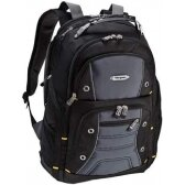 """Dell Targus Drifter Backpack 17 460-BCKM Fits up to size 17 """", Black/Grey"""