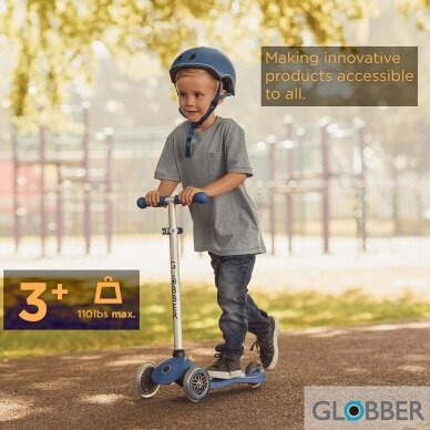 GLOBBER scooter PRIMO LIME GREEN, 422-106-2 4