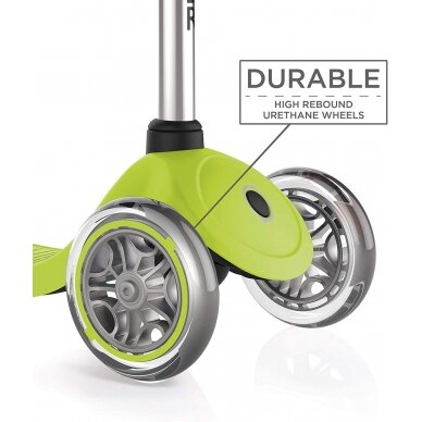 GLOBBER scooter PRIMO LIME GREEN, 422-106-2 5