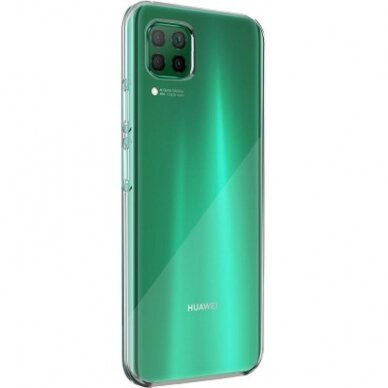 Huawei P40 Lite Silicone Cover By BigBen Transparent