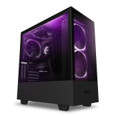 NZXT H510 Elite Side window, Matte Black, ATX, Power supply included No