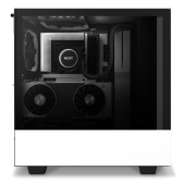 NZXT H510 Elite Side window, Matte White, ATX, Power supply included No