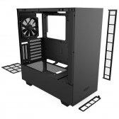 NZXT H510i Side window, Black/Black, ATX, Power supply included No