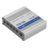 Teltonika Industiral POE+ Swith TSW100 PoE 802.3 af and PoE 802.3 at, Unmanaged, Desktop, 1 Gbps (RJ-45) ports quantity 5, PoE+ ports quantity 4