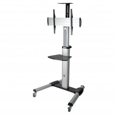 """Tripp lite Rolling TV/LCD Mounting Cart DMCS3270XP 32-70"""", up to 68kg, laptop shelf up to 4.9kg, VESA from 200 to 600mm, Black/Silver 2"""