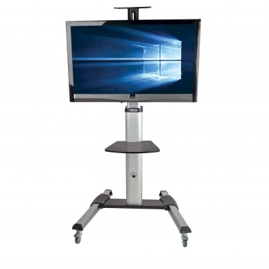 """Tripp lite Rolling TV/LCD Mounting Cart DMCS3270XP 32-70"""", up to 68kg, laptop shelf up to 4.9kg, VESA from 200 to 600mm, Black/Silver 3"""