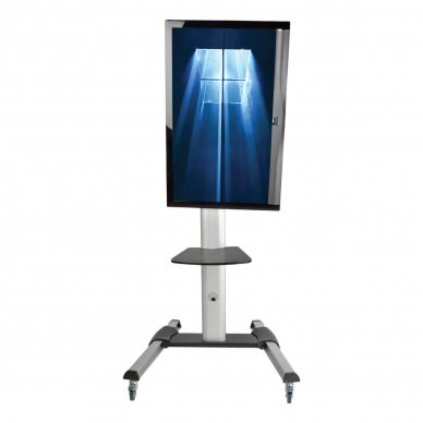 """Tripp lite Rolling TV/LCD Mounting Cart DMCS3270XP 32-70"""", up to 68kg, laptop shelf up to 4.9kg, VESA from 200 to 600mm, Black/Silver 4"""