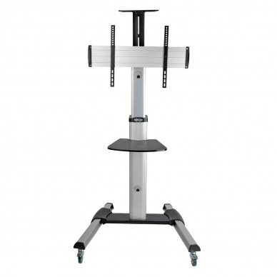 """Tripp lite Rolling TV/LCD Mounting Cart DMCS3270XP 32-70"""", up to 68kg, laptop shelf up to 4.9kg, VESA from 200 to 600mm, Black/Silver 5"""