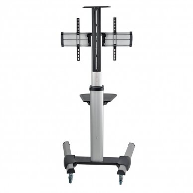 """Tripp lite Rolling TV/LCD Mounting Cart DMCS3270XP 32-70"""", up to 68kg, laptop shelf up to 4.9kg, VESA from 200 to 600mm, Black/Silver"""