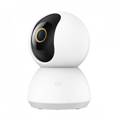 Xiaomi Mi 360° Home Security Camera 2K Fully encrypted data transmission; AES-128 encryption via the cloud;, H.265, Micro SD, Max. 32 GB, 110 °, Wall mount 2