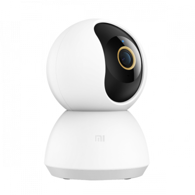Xiaomi Mi 360° Home Security Camera 2K Fully encrypted data transmission; AES-128 encryption via the cloud;, H.265, Micro SD, Max. 32 GB, 110 °, Wall mount 3